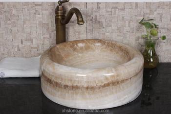 Mooie Wastafels Badkamer : Mooie vorm bruine kleur marmer wastafel voor badkamer buy
