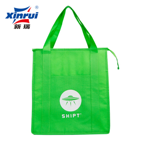 thermal lined cooler/ice bags for hot and cold keep cool with long zipper