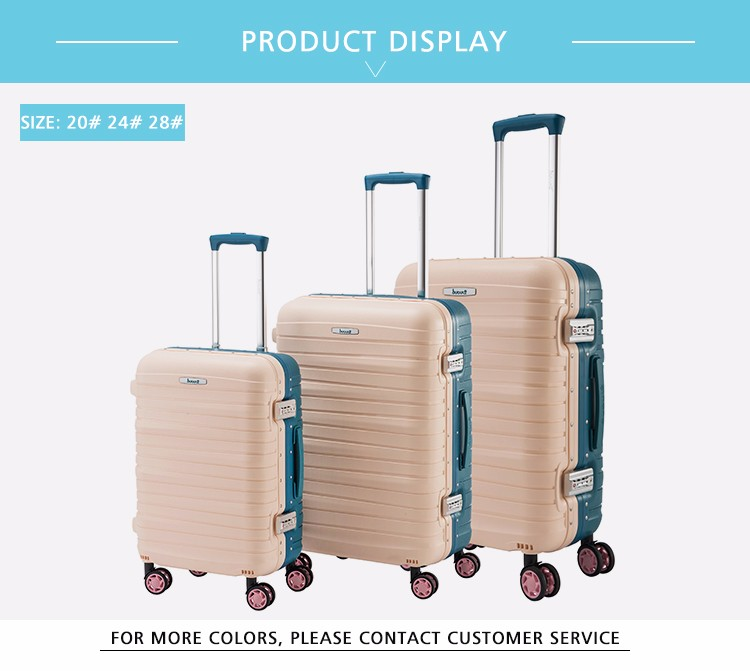 BUBULE Custom Security Wheeled Trolley Travel Bags Luggage