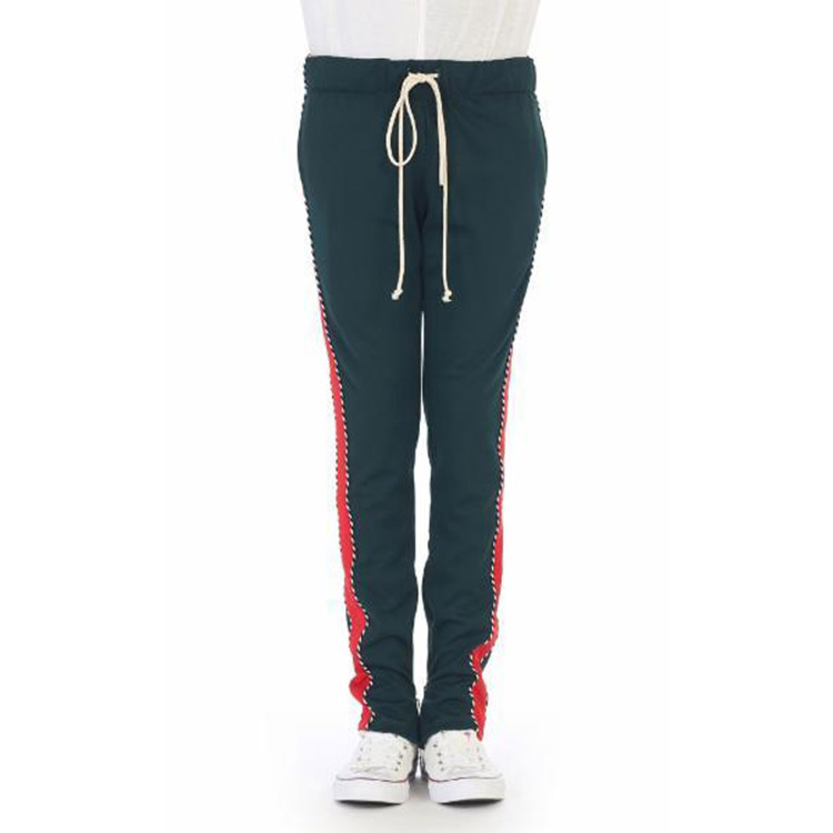 new list reputation first classic shoes Jingyu Men Jogger Pants Piping Techno Red Side Stripe Green Stylish Track  Pants With Ankle Zippers - Buy Men Jogger Pants,Side Stripe Pants,Stylish  ...