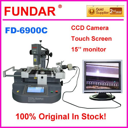 Low cost FUNDAR FD-6900C touch screen bga rework system