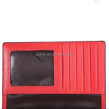 Rfid Blocking Material Passport Wallet