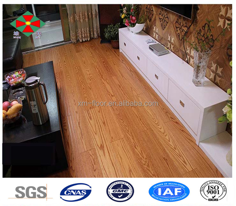 China laminate flooring supply Red Oak engineered wooden floors