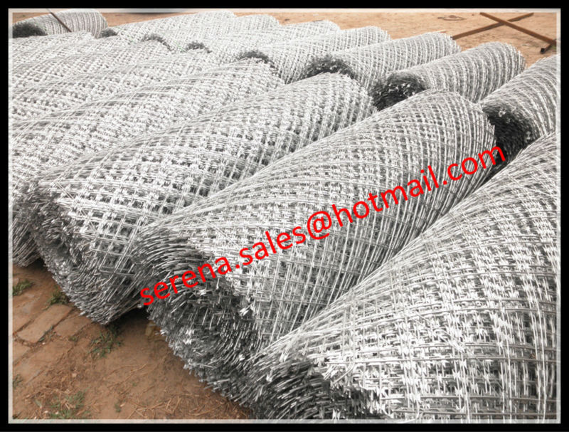 Razor Wire Mesh Fencing, Razor Wire Mesh Fencing Suppliers and ...