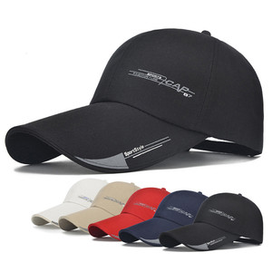598e63c7263bb YOUME 2018 Sports Cap Mens Hat For Fish Outdoor Fashion Line Baseball Cap  Long Visor Brim