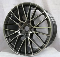 Deep dish 80mm staggered alloy wheels15inch