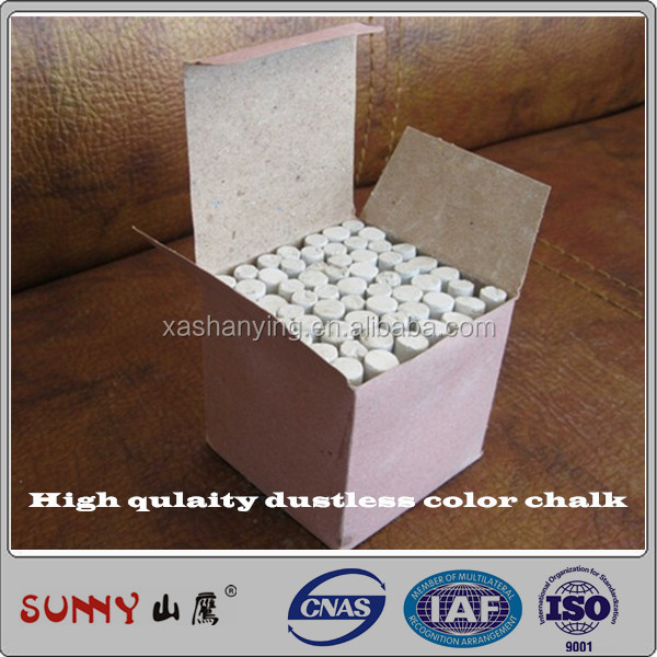 High quality white chalk for school teaching