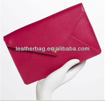 Clean Lines Define A Boxy Envelope Woman Clutch Buy