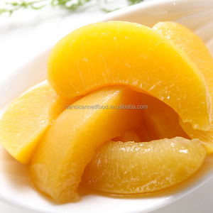 Yellow Peach Dices / Slice canned of Light Syrup for Asia / Thailand Market