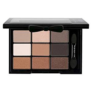 NYX Love in Paris 9 Richly-pigmented Shades and a Dual-ended Applicator Eye Shadow Palette (NYX Love In Paris Eye Shadow Palette - Parisian Chic)