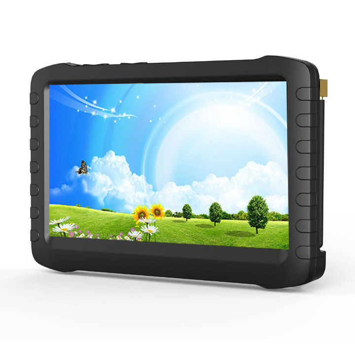 "battery operated 5"" portable lcd monitor <strong>dvr</strong>,support AV in out, CE,FCC,Rohs approval"