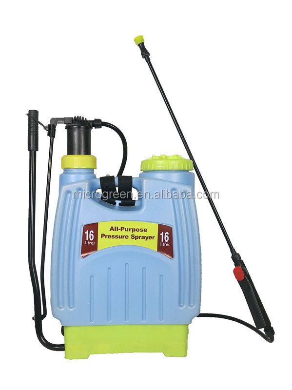 Jacto Pulverizador Knapsack Backpack 16L Garden Pressure Sprayer With Extendable Wands