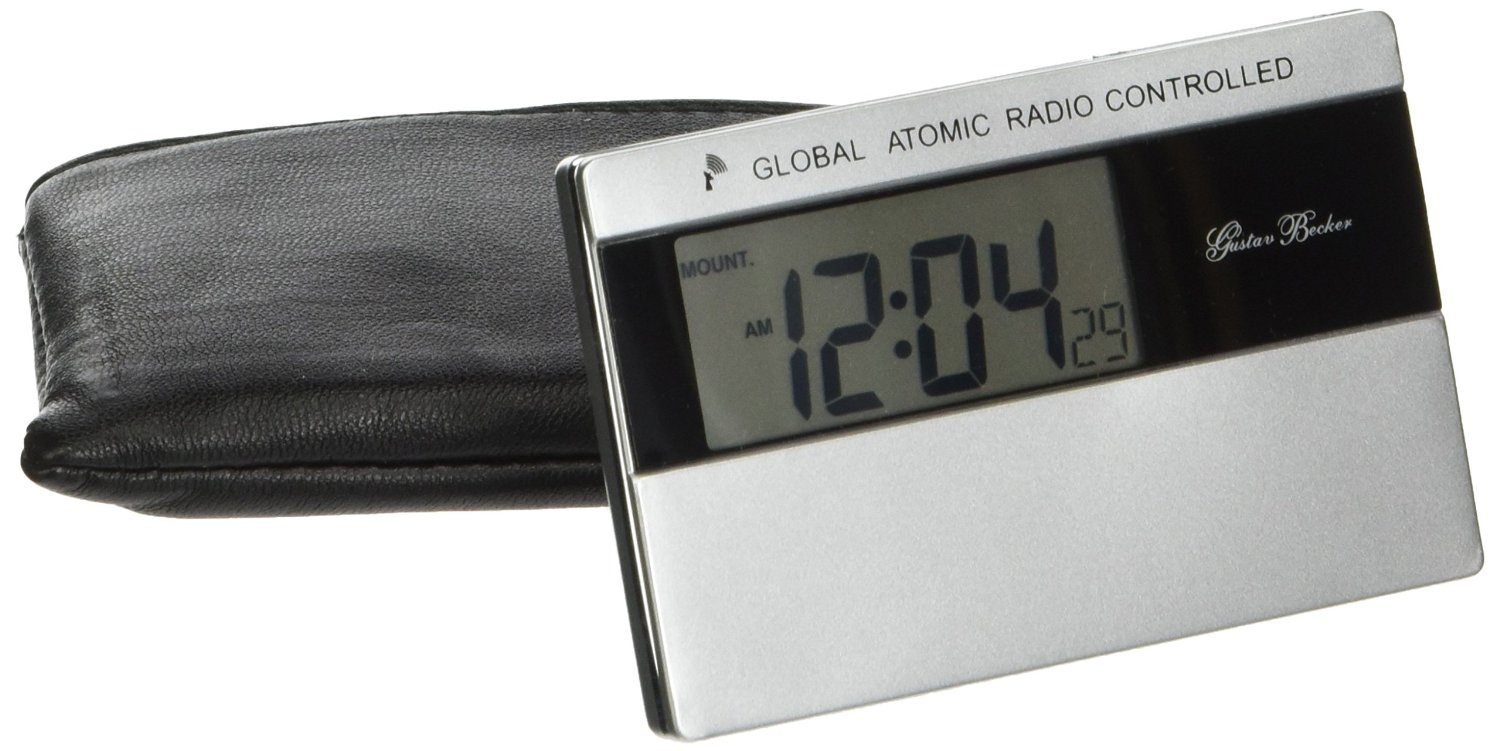 New Haven Global Atomic Radio Control World Time Travel Alarm Clock