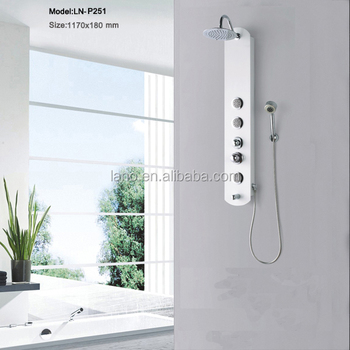 Pvc Shower Panel P251 With Good Quality - Buy Pvc Shower Wall ...