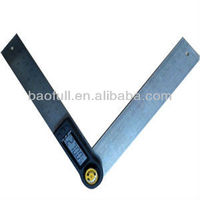 Stainless Steel Ruler And Digital Angle Finder With Moving Blade ...