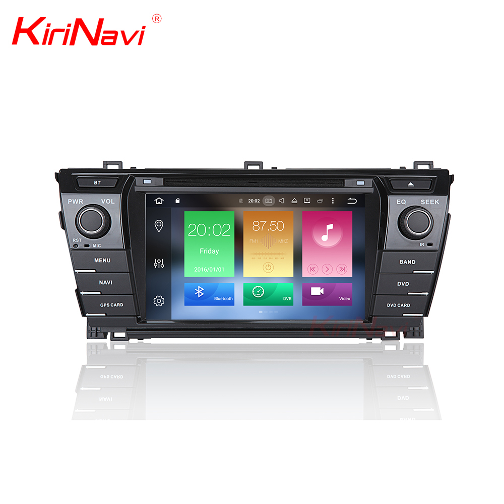 KiriNavi WC-TC7019 8 core android 6.0 stereo for toyota corolla car radio player 2014 2015 2016 2017 gps BT 3g TV