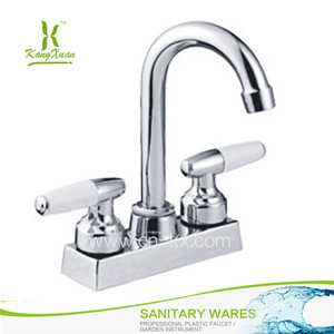 Chromed Hot Cold kitchen furniture kitchen faucet