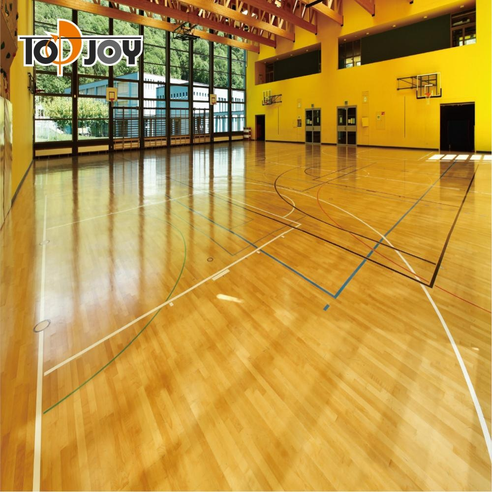 Basketbalvelden Indoor Vinyl Roll Vloeren