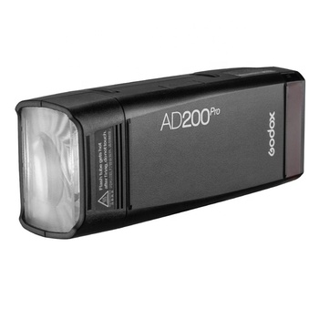 Godox AD200Pro Outdoor Flash Light TTL 2.4G 1/8000 HSS 0.01-1.8s Recycling 200Ws Pocket Flash AD200 Pro with 2900mAh Battery