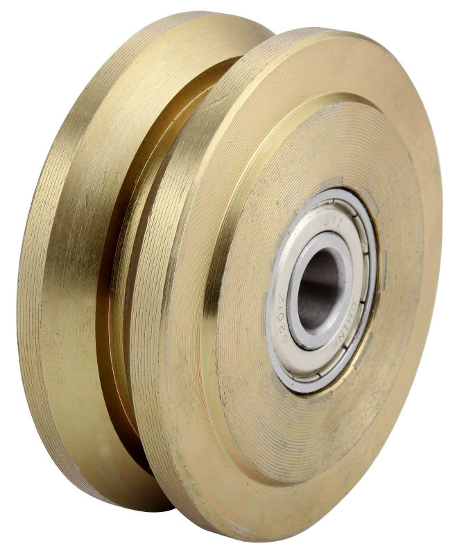 Heavy Duty Groove Wheel Sealed Double bearing