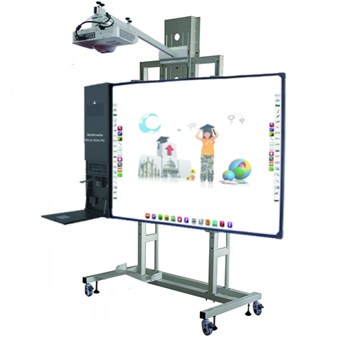 Shenzhen multi-touch draagbare interactieve whiteboard module met projector