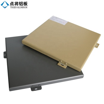 Customized color PVDF coating aluminum solid panel for exterior wall