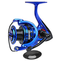 Aluminum Alloy Fishing Reel 7-9KG Max Drag Sea Boat 9+1BB Spinning Surf Reel Fishing Gear