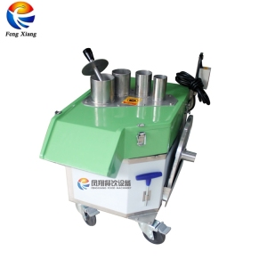 Automatic Industrial Mango Apple Onion Rings Cube Banana Chips Slicer  Slicing Cutting Processing Machine