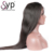Raw Cambodian Virgin Human Hair Wigs , Straight Lace Front Wig For Black Women