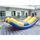 0.65mm PVC floating inflatable water seasaw, new inflatable water toys for river or sea