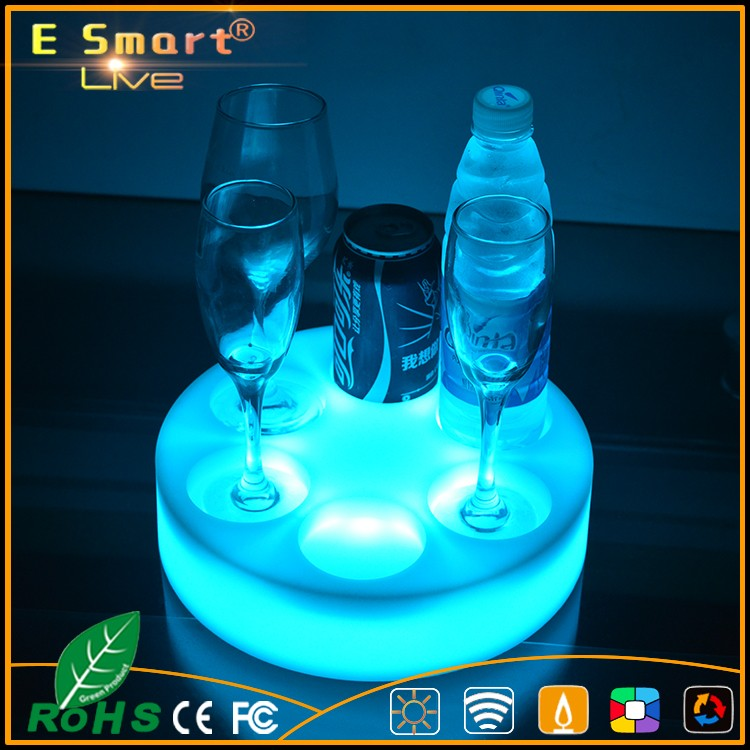 waterproof bar Led Tray, LED Plastic Serving Tray