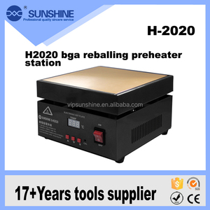 H2020 improving version Microcomputer constant temperature bga reballing preheater station