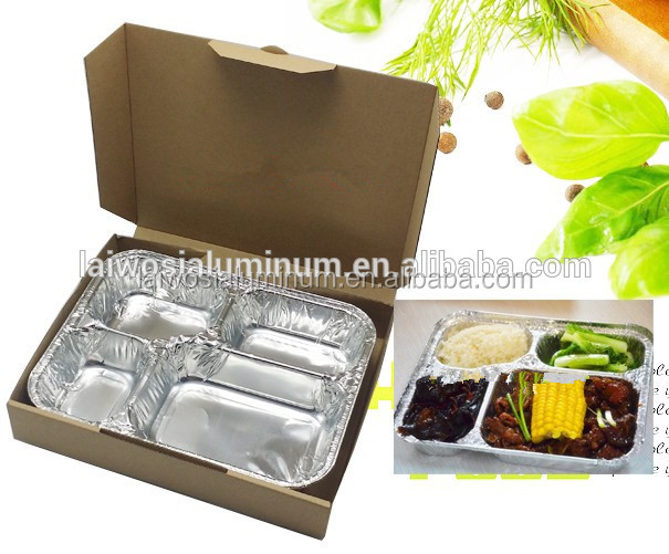 Food Packaging aluminum foil takeaway containers China manufacture