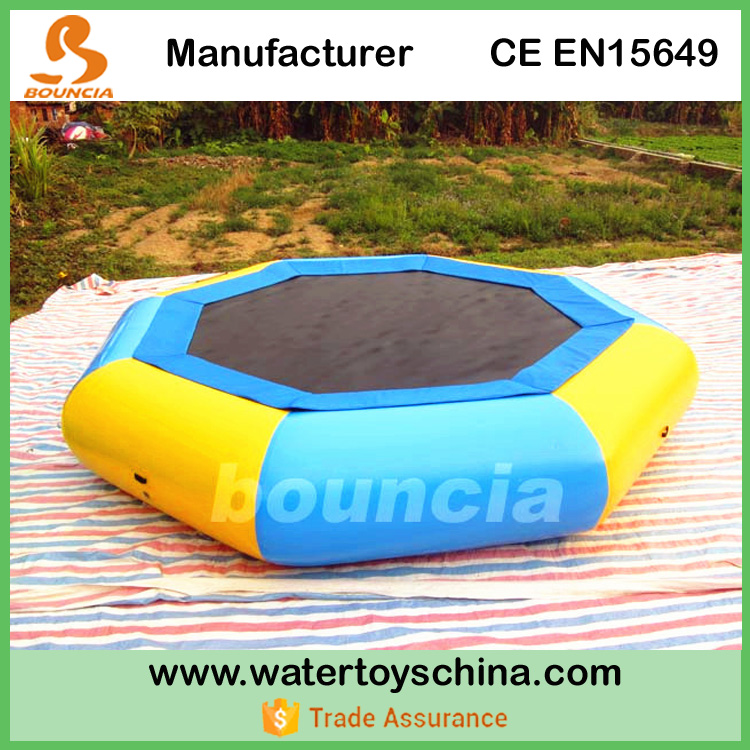 Bouncia Manufactures Cheap Inflatable Water Trampoline For Sale