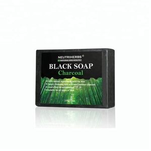 Body Acne Soap Bar Beauty Face Charcoal Bamboo Soap
