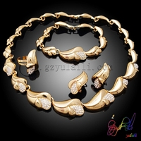Ladies wholesale costume jewelry sets Indian bridal jewelry sets Online fashion heavy jewelry set