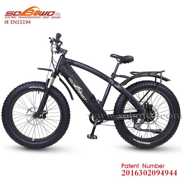 Sobowo Q7 48v 750w Powered Electric Motor Road Bike With Fat Wheel - Buy  Electric Motor Road Bike,Powered Electric Motor Road Bike,750w Powered