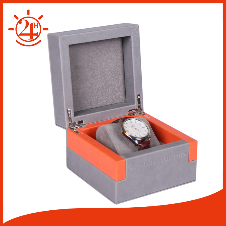 Custom high end mdf luxury watch boxes cases for tissot