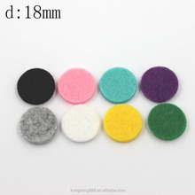 Colorful Cotton Round Pads For 25MM Essential Oil Diffuser Wholesale