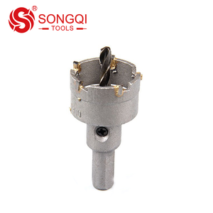 Tungsten Carbide Tipped TCT Hole Saw Core Drill for Metal Cutting