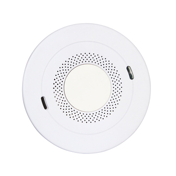Anka AJ-933 Battery Operated Home Security Gas Leak Detector Carbon Monoxide Smoke Detector Alarm