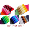Non-woven fabric material color