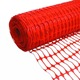 plastic mesh safety fence orange road automatic fence barrier gate