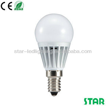 High quality 4W led light bulb E14 low heat no uv led lamp, made in china
