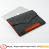 Alibaba Latest envelope design felt laptop bag with snap button
