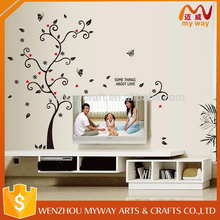 new product 2020 Assured Quality Cheap New Gifts Wall Decor Wholesaler Decorative Vinyl Wall Sticker Tree Decals