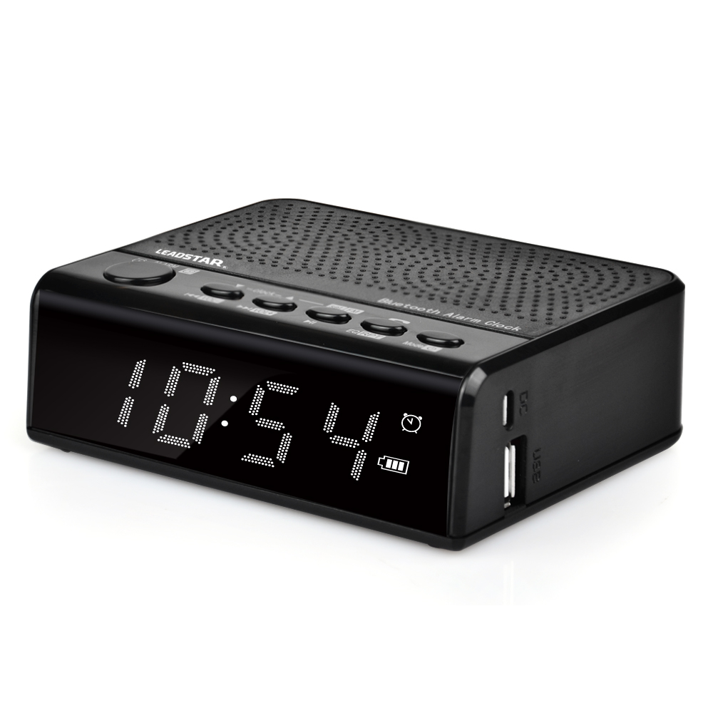 Hot Sale V2.1+Edr Bluetooth Standard Cd Alarm Clock Radio