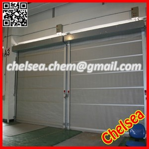 high speed industrial pvc plastic folding doors