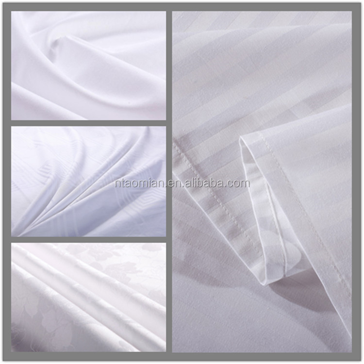 100% cotton hotel use fabric for quilt and sheets
