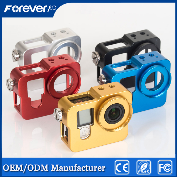 Facebook Hot selling GoPros 4 Session Underwater camera case Waterproof Protective Housing Case